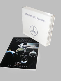 """Mercedes-Benz Automobile"".  6 volumes with a complete documentation of all Mercedes cars from 1913 to 1980. All  as new.  Plus: ""In Aller Welt 100 Jahr "" All text in German"