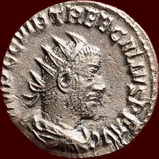 Roman Empire – Silver Antoninianus of Trebonianus Gallus, 251-253 A.D.