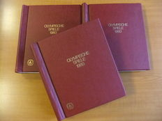 Olympic Games 1980 - Pattern collection in 3 special albums