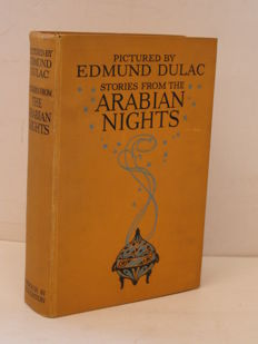 Edmund Dulac; Laurence Housman (retold) - Stories from the Arabian Nights - c. 1920