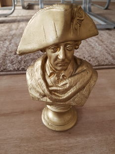 Old or even antique bust of Old Fritz (Frederick II) or Frederick the Great.