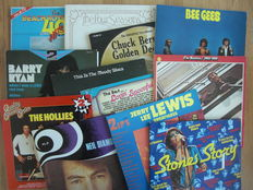 Lot Of 15 Double Albums By 60's Artists