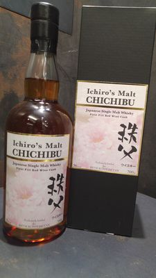 Chichibu First Fill Red Wine Cask Sakura Limited Edition