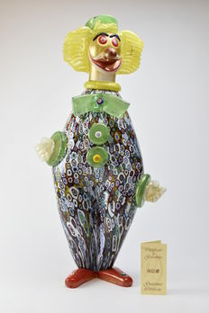 Amedeo Rossetto (Eugenio Ferro & C.) - Collectable Clown (50 cm)
