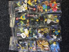 Collectible Minifigures - 71011 - Minifigures Series 15 - Complete set of all 16 minifigures
