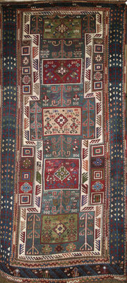 One of a kind Karabagh Cacuasian rug in good condition
