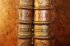 Jean Bacquet - Les oeuvres - 2 volumes - 1744
