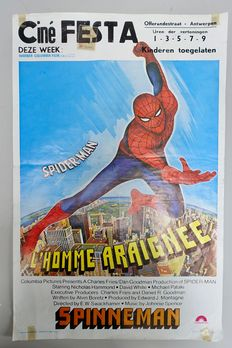 Original filmposter Spiderman ft. Nicholas Hammond