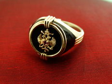 Men's Ring, 'Faberge' edition, Franklin Mint,