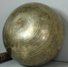 Hand-hammered singing bowl – Nepal – second half 20th century