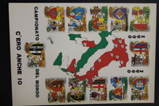Postcard collection of the 1990 FIFA World Cup
