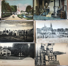 The Netherlands - legacy collection consisting of 670 postcards topography village and city views.