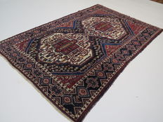 Wonderfully beautiful Persian carpet Sirdjan/Iran 200 x 133cm vintage circa 1970 from €1.00