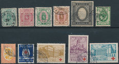 Finland 1875/1932 – Selection between Michel 14 Ayc and 175