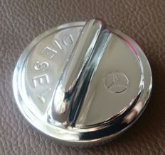 Mercedes Benz diesel chromed tank cap