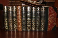 Alfred de Musset - Oeuvres - 9 volumes - around 1910