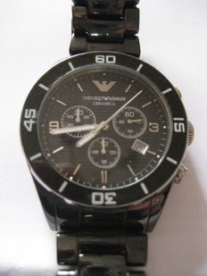 Emporio Armani - chrono - men's wristwatch - 2009
