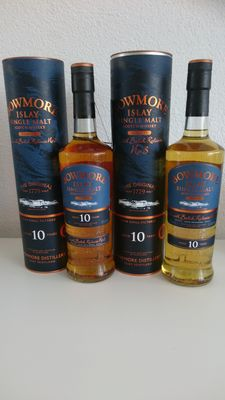 2 bottles - Bowmore Tempest small batch release 2 and 3