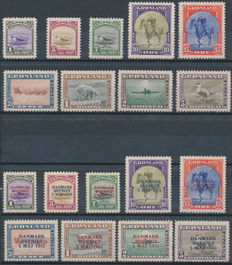 Greenland 1945 - New York issue and Liberation - Facit 10/27