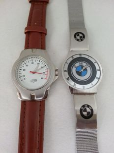 Set of 2 watches - Renault Megane - BMW - Collectors  watches