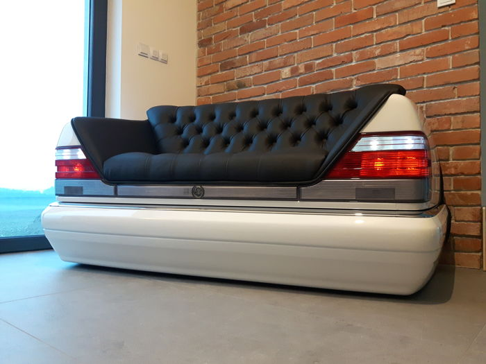 Realisticstyle Car Furniture Exclusive Sofa Mercedes Benz W140