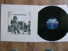 LP The Rolling Stones  : a Special Radio Promotion Album -  colored vinyl , special limited edition 18 copie
