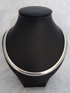 """Silver """"Omega"""" necklace"""