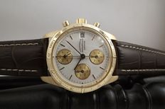 Eberhard Champion - Ref.: 30132 - 18 kt (750/1000) gold - Lemania 5100 automatic - Box and papers