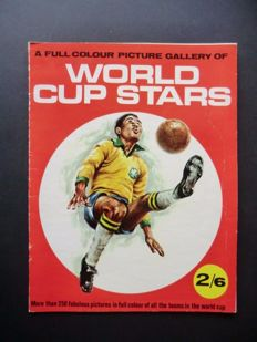 Variant of Panini - 1st FKS album World Cup Stars World Cup 1966 in England - In very good condition.