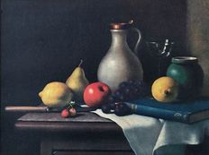 Christopher Cawthorn - A kitchen table still life