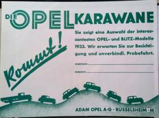 Anonymous - 'Opel Karawane' - 1933