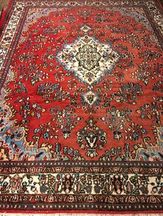 Persian carpet Hamadan, 344 x 263 cm