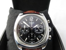 (TAG) Heuer Monza re-edition (ref: CR 2110) – men's chronograph – early 21st century.
