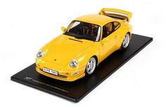 GT-Spirit - Scale 1/18 - Porsche 911 (Type 993) Carrera RS Club Sport 1992 - Colour: Yellow