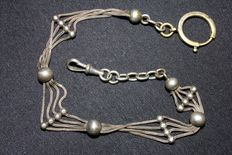 Chain for timepiece – Silver, 800/1000.
