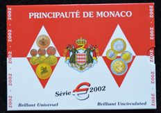 "Monaco – Year pack 2002 ""Rainier III"""