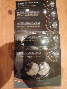Germany and Europe - commemorative coin set, coin set