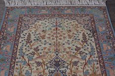 Wonderfully & Original Persian Iran Isfahan 1,000000 knots M/2 108x165 cm around 1970