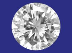 Diamond, brilliant cut, 0.30 ct D/LC (ref: #0117-103)