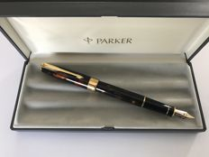 Parker SONNET Chinese Lacque Vision Faize (gold dust), extra nib 1993 k Gold 18-tone: New.