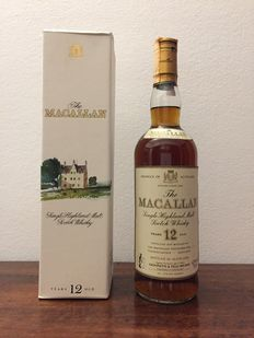 The Macallan 12 years old - bottled 1980s -  Import Giovinetti & Figli