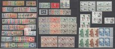 France Nouvelle  Caledonie 1905/1950 - Stamps collection