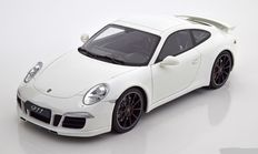 GT-Spirit - Scale 1/18 - Porsche 911 (991) Carrera 2 Aerokit 2014 - Colour: White