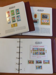WC Football Mexico 1986 - Pattern collection in 3 special albums