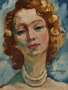 After Kees van Dongen (1877-1968) - Portrait de Femme