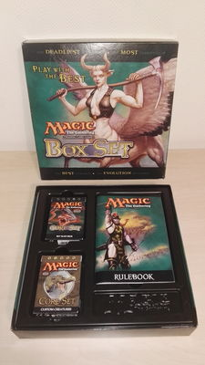 Magic: The Gathering - Collection of 48 great playsets and a Box Set