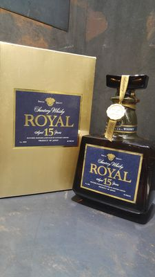 Suntory Royal 15 Year Old Whisky Limited Edition