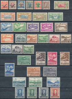 Iceland 1928/1952 – Selection from Michel 122 to 284