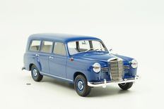 Bos Models - Scale 1/18 - Mercedes-Benz 180 Universal (W120) 1954 - Blue