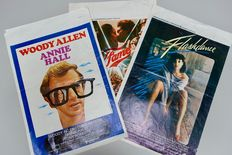 Vintage iconic filmposter (3): Fame, Flashdance & Annie Hall (Woody Allen)